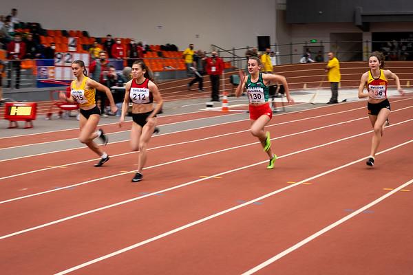 60m Running -  Women