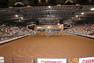 Sat night 10-02 last night of Rodeo Stands FULL