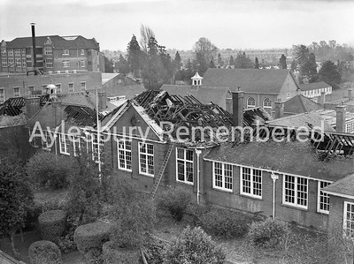 Aylesbury Grammar School fire, Nov-Dec 1953