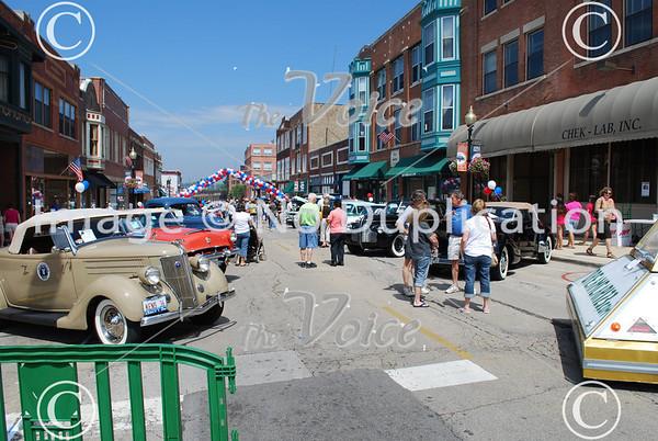 Aurora, IL LaSalle St. Car Show 8-8-10