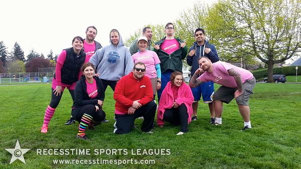 Spring Kickball Team Photos 2013