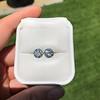 4.08ctw Old European Cut Diamond Pair, GIA I VS2, I SI1 58