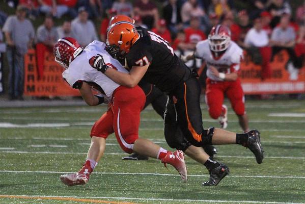 05 Football:  Jackson at Wheelersburg 2014