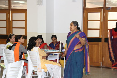 Workshop by Vidya Jayraman for Math Department