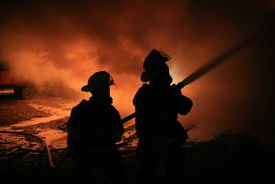 House Fire 2400 W. 125th St. N. (2/28/10)