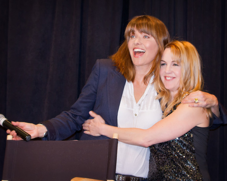 Lucy and Renee Xena Con 2012