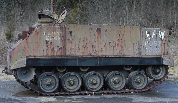 Tennessee VFW, American Legion, Veterans Parks, Monument Vehicles