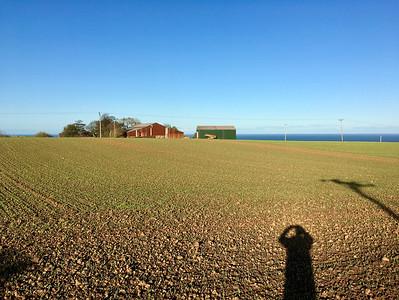 Prechádzka zo Skelton na pobrežie a späť - 15 kilometrov