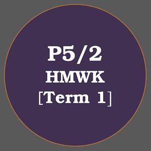 P5/2 HMWK T1