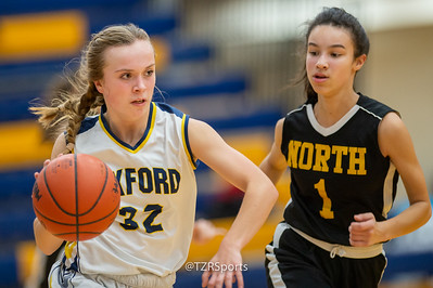 JV Girls' Basketball vs. North Farmington 12/20/2019