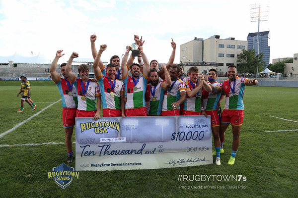 2019 Rugbytown 7's August 23-25, Glendale Colorado