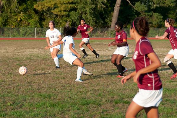 2012-10-05 Dayton Girls Varsity Soccer vs Roselle Park - Conf. Series #8 of 8