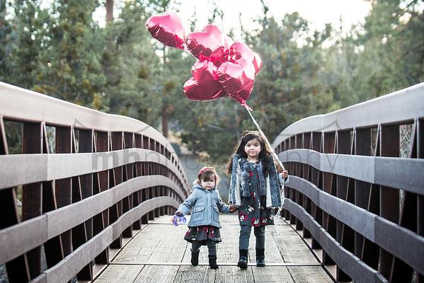 Balloons on a Bridge
