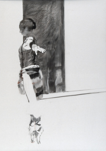 Study for The Transparent Wall (1988)