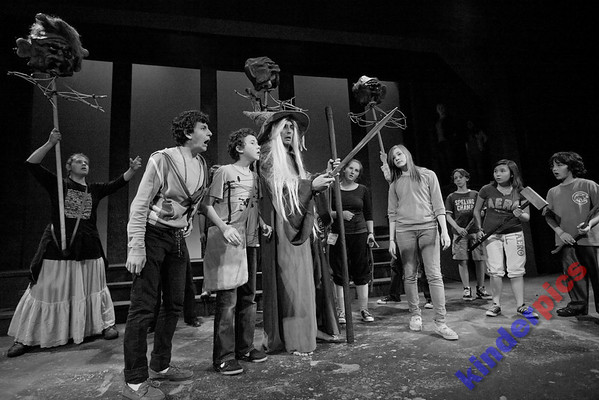 NWCT 2009 Hobbit - Rehearsal