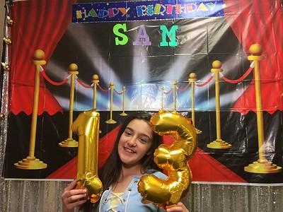 Sam's 13th
