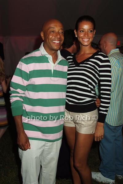 Russell Simmons, Porschla Coleman photo by Rob Rich © 2008 robwayne1@aol.com 516-676-3939