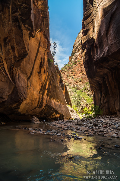 Narrows Exit   Photography by Wayne Heim