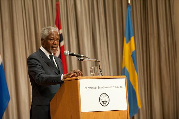 The American-Scandinavian Foundation presents Kofi Annan