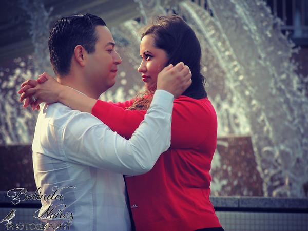 Ruby & David in December