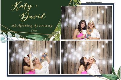 Katy and David's 10th Wedding Anniversary