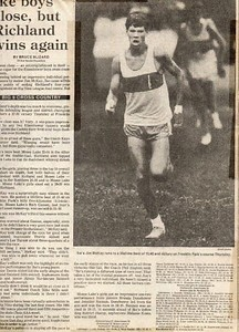 1986 Eisenhower Cross Country Season