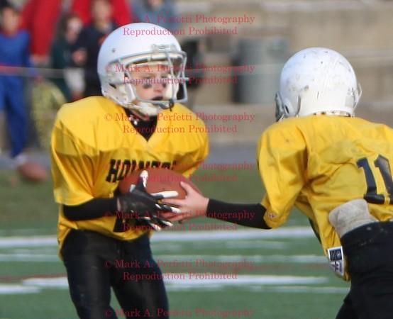 Junior Super Bowl-Gold Hornets vs Scarlet Crusaders 11-7-2009