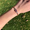 .86ctw Art Deco Ruby and Diamond Link Bracelet 9
