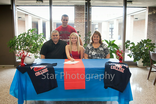 Summer Reece Signs With Louisberg College 08-08-14