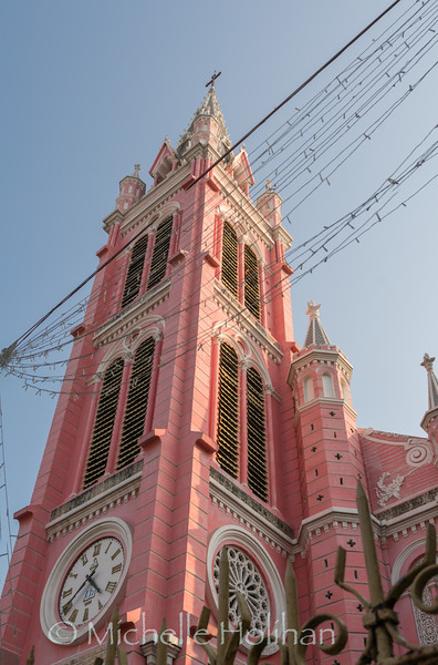 Pink Church, Ho Chi Minh City, Vietnam