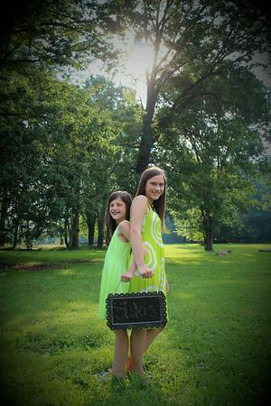 Kaitlyn 13 & Taylor 10