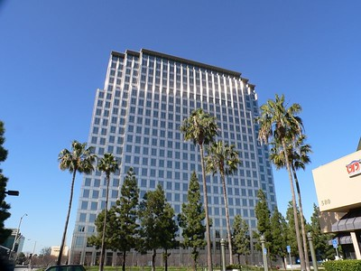 Buildings in Orange County California