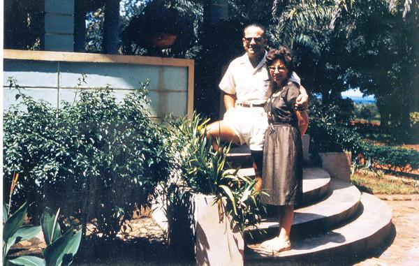 Cossa 1961  Dr. Soares e esposa Maria Zulmira