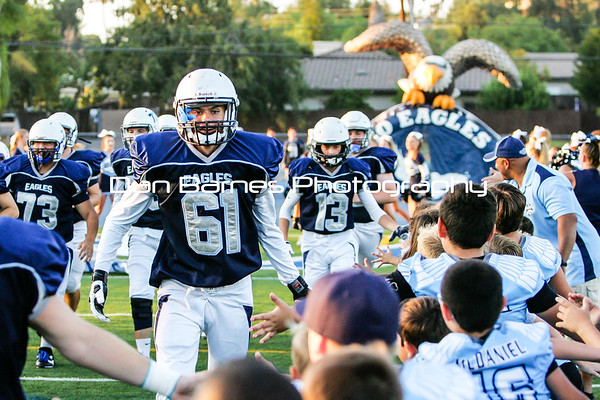 Granite Varsity vs San Pasqual 08/26/16