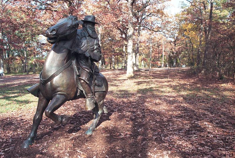 General Longstreet Monument