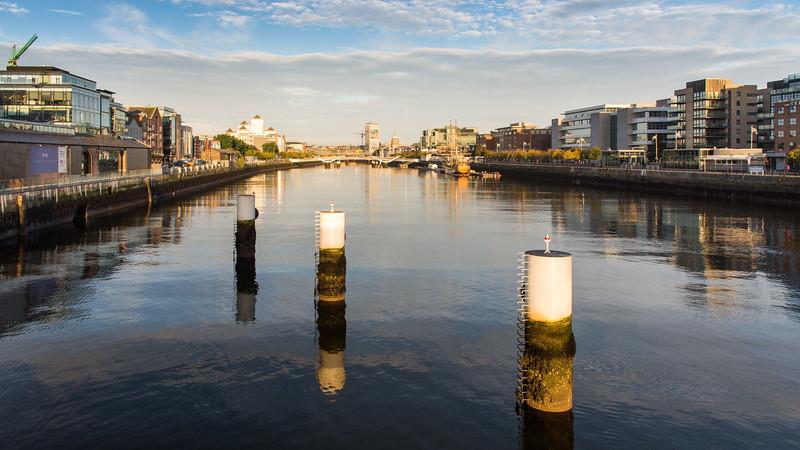 River #Liffey cityscape