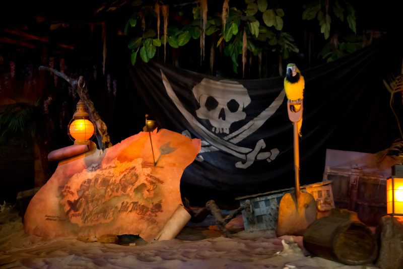 Pirates Of The Carribean Ride @ Disneyland