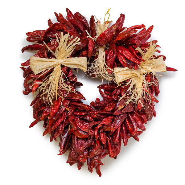Fresh Chile Company - Red Chile Ristra - Valentines Day Heart.jpg