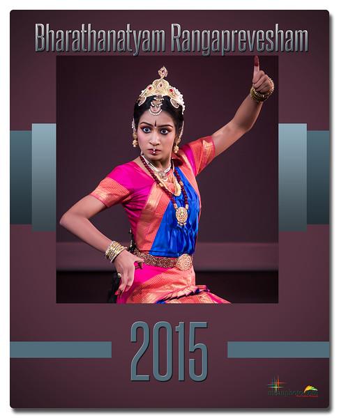 Shreya's Bharatanatyam Rangaprabesha 2015