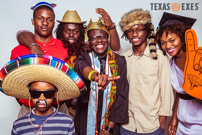 Texas Exes Photobooth Commencement 2012