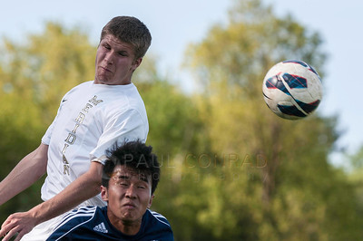 Lynden Christian at Meridian Soccer 140429