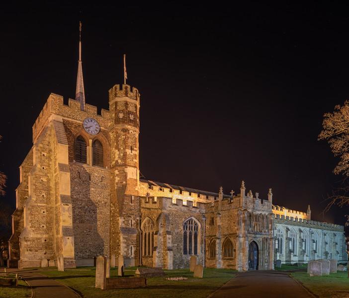 St Mary's Church, Hitchin, Hertfordshire
