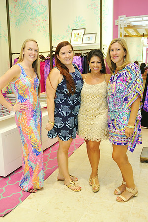 Highballs & Hibiscus Lilly Pulitzer Kick-Off Party 2014