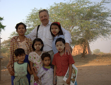 Finding Peter Fay's Photo Kids in Bagan
