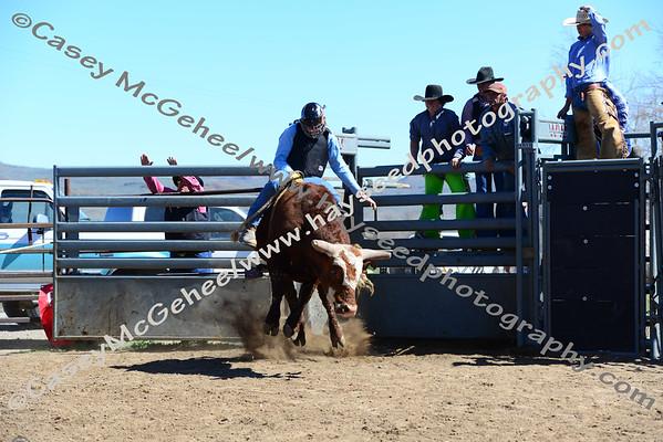 Zeb Lanham Benefit Bull Riding