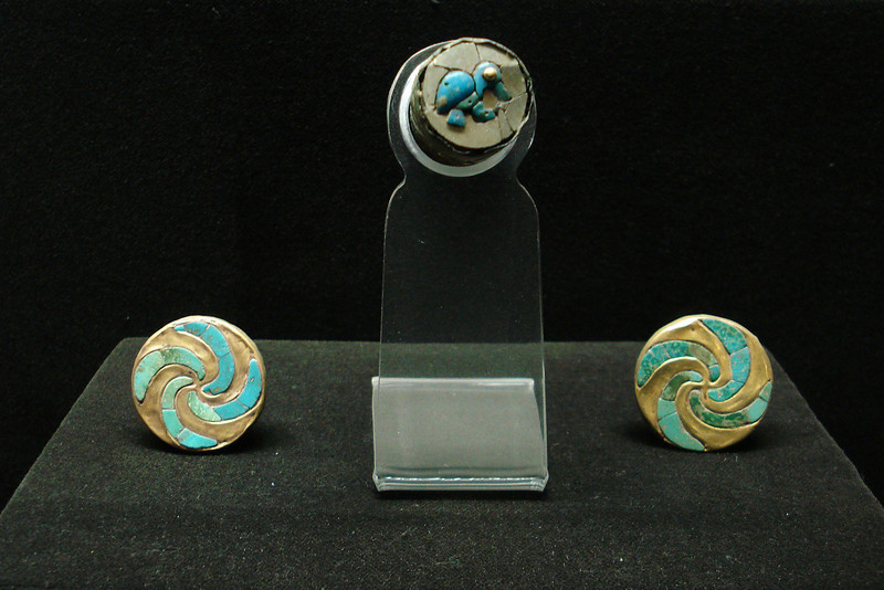 Turquoise and Gold Earings.jpg