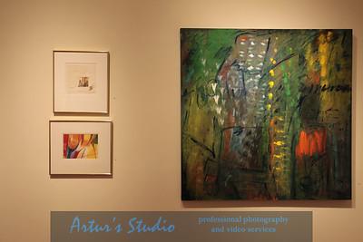 """Pomona Spring 2012 Art Exhibit """"Creative Abstractions"""""""