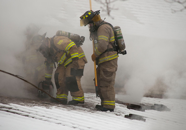 South Elgin Residential 2-Alarm - Collins Ave. - Feb. 2, 2010