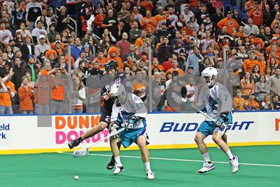 1/16/2010 - Rochester Knighthawks vs. Buffalo Bandits - HSBC Arena, Buffalo, NY
