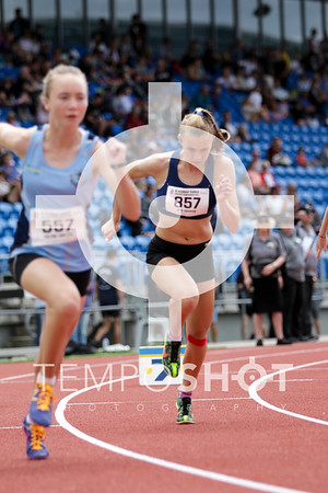 Junior Girls 800m Semis